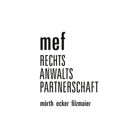 mef Rechtsanwaltspartnerschaft is a GRAZ based law firm. (corporate design /print design)